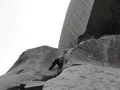 Rock Climbing Photo: Having fun on Dominion
