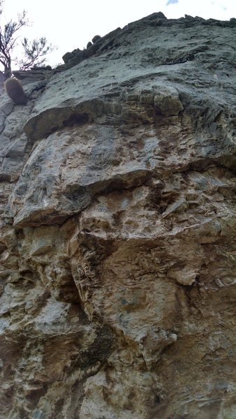 Rock Climbing Photo: I believe this is the bolt line of Surfing the Sla...