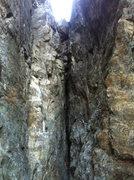 Rock Climbing Photo: Mark and Mickey on Sub Zero .11b. Emeralds Gorge, ...
