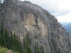 Rock Climbing Photo: Hidden Dome next to Calaveras Dome, CA. Most of ro...