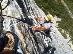 Rock Climbing Photo: scott muir on bear's reach, lover's leap. best 5.7...