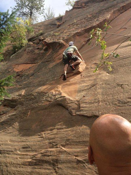 Rock Climbing Photo: Climber Cody!