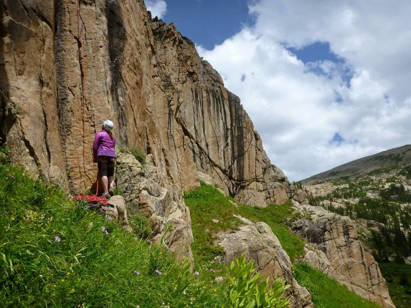Rock Climbing Photo: A typical summer day at the Tiger Cliff.