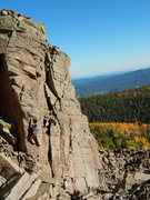 Rock Climbing Photo: Fun steep movement