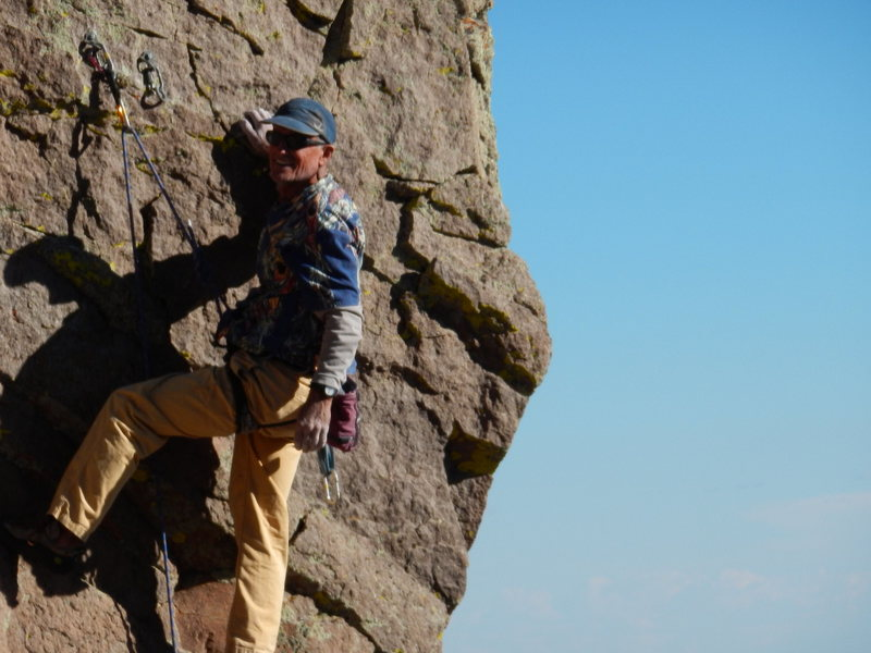 Rock Climbing Photo: FA and the monkey off my back