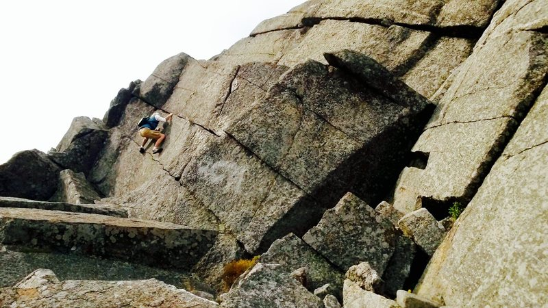 Rock Climbing Photo: ESS