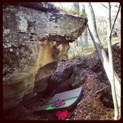 Rock Climbing Photo: Please Hammer Don't Hurt Em' (V5).