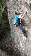 Rock Climbing Photo: Good earth, 12c, Rumney