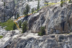 Rock Climbing Photo: Overview of the approach