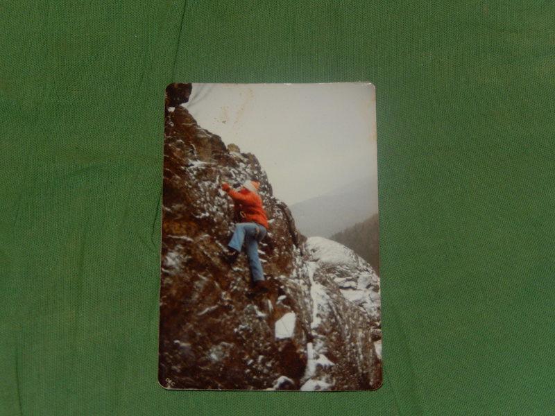 Rock Climbing Photo: December 79 I was 15