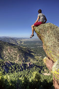 Rock Climbing Photo: Killer summit and view. This is about as north as ...