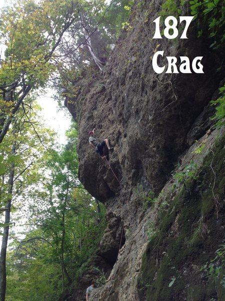 Rock Climbing Photo: 187 Crag