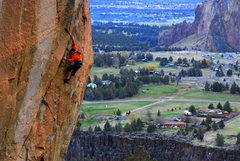 Rock Climbing Photo: Nate Tack pulls on some Pouches