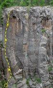 Rock Climbing Photo: Death Dealer