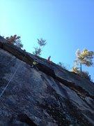 Rock Climbing Photo: Eric at the opening