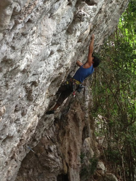 Rock Climbing Photo: this is Hector Estrada on June 2013 having fun wit...