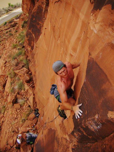 Rock Climbing Photo: Sam Shyrack sending Androids
