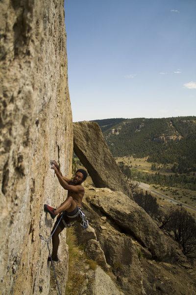 Rock Climbing Photo: face dancer