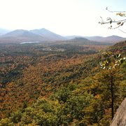 Rock Climbing Photo: Peaking fall at Potter mountain cliff this weekend...