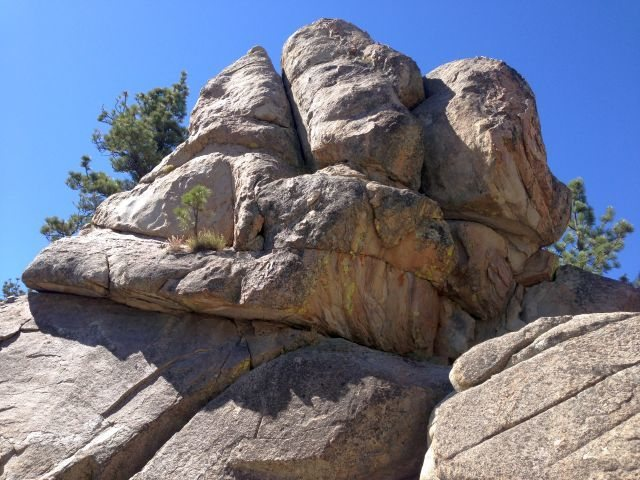 Canine Crag, Holcomb Valley Pinnacles