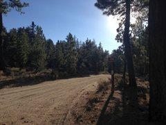 Rock Climbing Photo: Forest Road 3N16, Big Bear North
