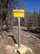 Rock Climbing Photo: Mining claim marker, Holcomb Valley Pinnacles