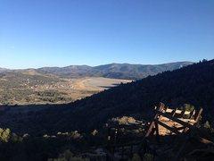 Rock Climbing Photo: Lucky Baldwin Stamp Mill overlooking Baldwin Lake,...