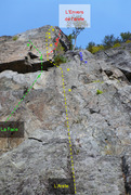 Rock Climbing Photo: L'Arete 183