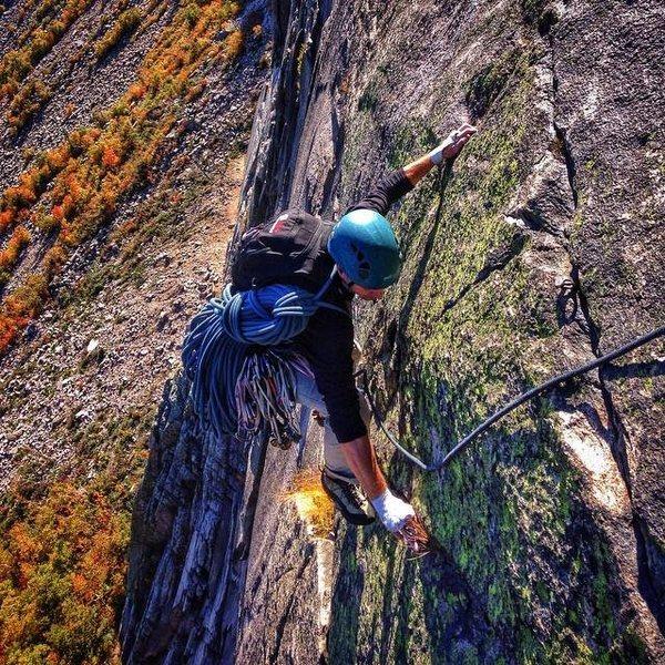 Rock Climbing Photo: VMC pitch 4