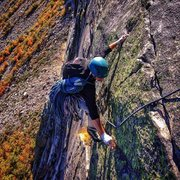 Rock Climbing Photo: VMC pitch 4