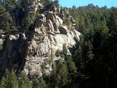 Rock Climbing Photo: This is a view from the road.