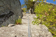 Rock Climbing Photo: Easy rider, from the ledge