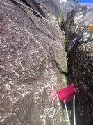 Rock Climbing Photo: I only did half of the first pitch, but i found so...