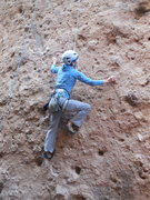 """Rock Climbing Photo: Searching for pockets on """"Betty Does Brownsvi..."""