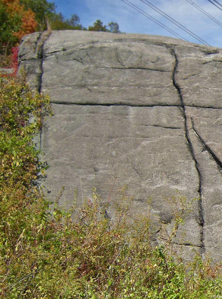 Static route on face to left of High Electricity crack