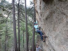 Rock Climbing Photo: Styling...