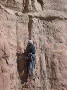 Rock Climbing Photo: Finishing pitch 2