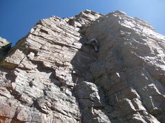 Rock Climbing Photo: Start of Aces High.
