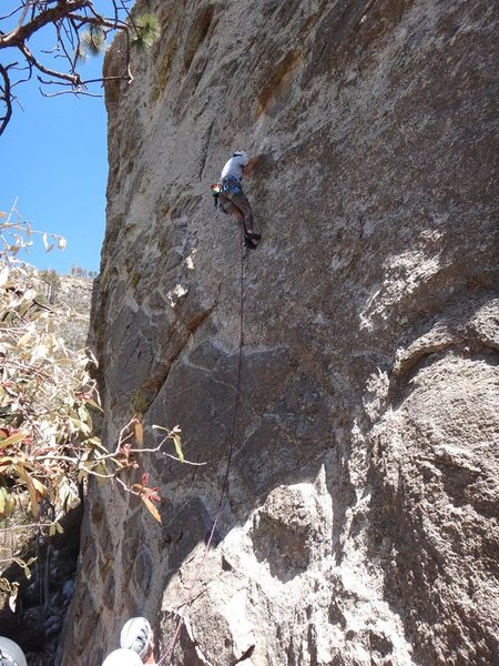 Rock Climbing Photo: In Lightning 5.8- 5/19/13