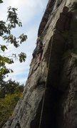 Rock Climbing Photo: Silhoutte start.