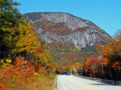Rock Climbing Photo: Mt. Willard in late September