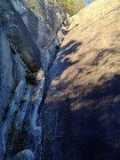 Rock Climbing Photo: Magical Child in Ronin's Corner