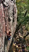 Rock Climbing Photo: Thoroughfare from the Grotto