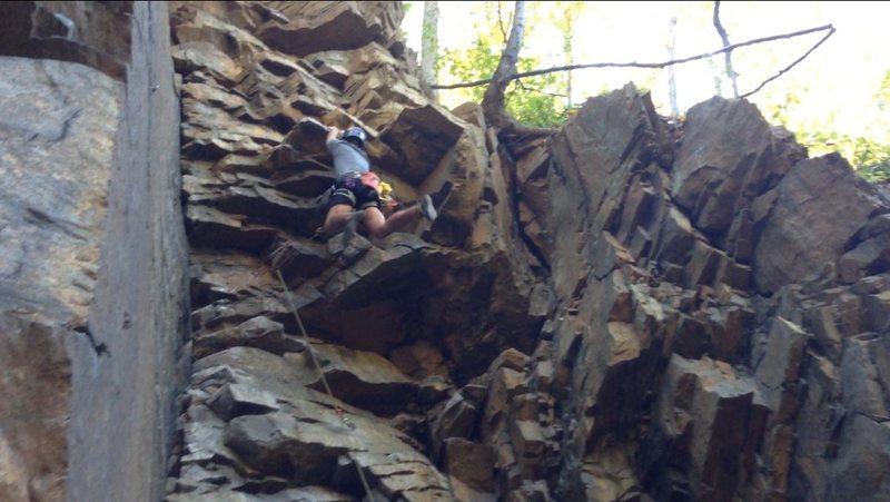 Jenga: Zorro Face, Birdsboro Quarry, PA