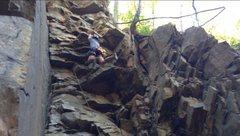 Rock Climbing Photo: Jenga: Zorro Face, Birdsboro Quarry, PA