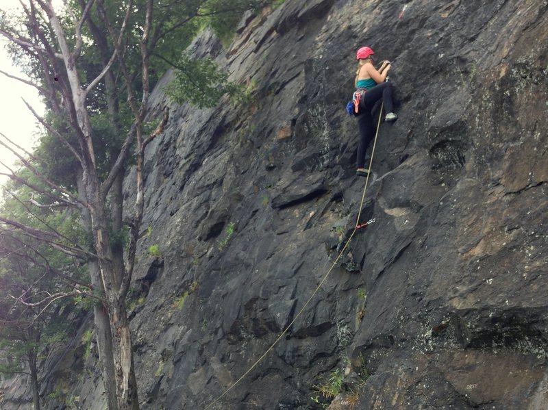 Rock Climbing Photo: Poison Ivy Wall, West Point, NY