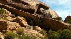 Rock Climbing Photo: Best traverse.