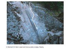 Rock Climbing Photo: Skidmark