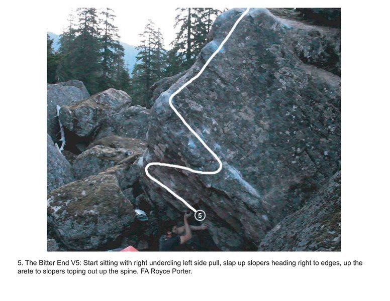 Rock Climbing Photo: Bitter End Boulder