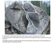 Rock Climbing Photo: Pocket Boulder